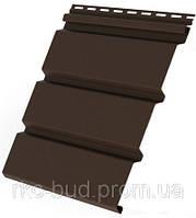 Панель соффит Т-20 перфорированная/  Т-19 без перфорирации; (3,00*0,232=0,7м2), коричневый цвет