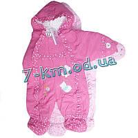 Комбинезон для младенцев An9957 синтепон 3 шт (3-12 мес)