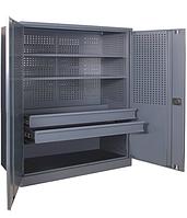 Шкаф инструментальный ШИ-20/2П/2В (1000х1000х500 мм), металлический шкаф для инструментов