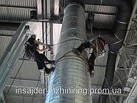 Монтаж промышленной вентиляции. Киевская область