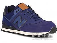 ML574GPF New Balance Мужская спортивная обувь New Balance Ml574gpf тмно-синий