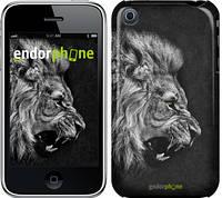 "Чехол на iPhone 3Gs Лев ""1080c-34-532"""