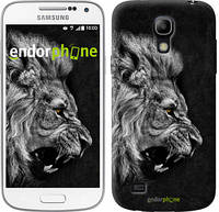 "Чехол на Samsung Galaxy S4 mini Лев ""1080c-32-532"""