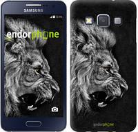 """Чехол на Samsung Galaxy A3 A300H Лев """"1080c-72-532"""""""