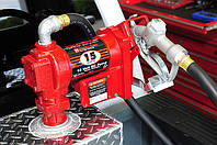 Насос бочковой FILL-RITE для  бензина Испания (50л/мин)  24В