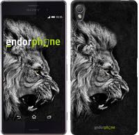 """Чехол на Sony Xperia Z3 D6603 Лев """"1080c-58-532"""""""