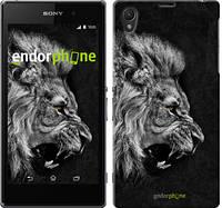 """Чехол на Sony Xperia Z1 C6902 Лев """"1080c-38-532"""""""