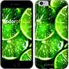 """Чехол на iPhone 6 Зелёные дольки лимона """"852c-45-532"""""""