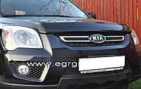 Дефлектор капота EGR Kia Sportage 2005-2009 темный