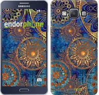 """Чехол на Samsung Galaxy A5 A500H Золотой узор """"678c-73-532"""""""