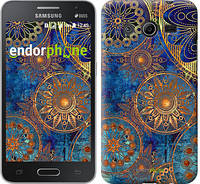 "Чехол на Samsung Galaxy Core 2 G355 Золотой узор ""678c-75-532"""