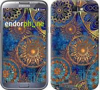 "Чехол на Samsung Galaxy Note 2 N7100 Золотой узор ""678c-17-532"""