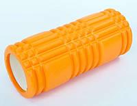 Роллер массажный PRO SUPRA FOAM ROLLER 6277 оранжевый