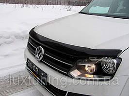 Дефлектор капота SIM Volkswagen Amarok 2010- темный