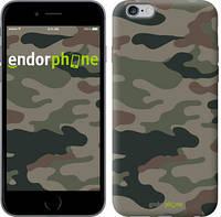 "Чехол на iPhone 6 Plus Камуфляж v3 ""1097c-48-532"""