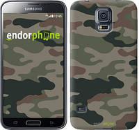 "Чехол на Samsung Galaxy S5 g900h Камуфляж v3 ""1097c-24-532"""