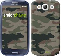 "Чехол на Samsung Galaxy S3 Duos I9300i Камуфляж v3 ""1097c-50-532"""