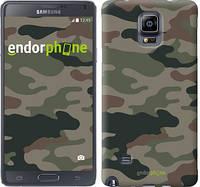 "Чехол на Samsung Galaxy Note 4 N910H Камуфляж v3 ""1097c-64-532"""