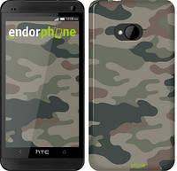 "Чехол на HTC One M7 Камуфляж v3 ""1097c-36-532"""