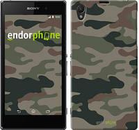 "Чехол на Sony Xperia Z1 C6902 Камуфляж v3 ""1097c-38-532"""