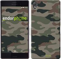 "Чехол на Sony Xperia Z3 dual D6633 Камуфляж v3 ""1097c-59-532"""