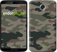 """Чехол на Motorola Nexus 6 Камуфляж v3 """"1097c-67-532"""""""