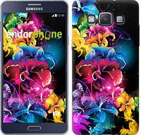 "Чехол на Samsung Galaxy A5 A500H Абстрактные цветы ""511c-73-532"""