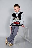 Вязанные свитера для мальчиков