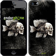 """Чехол на iPhone 5s Рыбо-человек """"683c-21-532"""""""