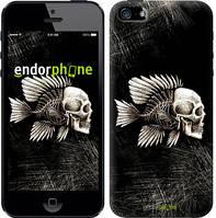 """Чехол на iPhone 5 Рыбо-человек """"683c-18-532"""""""