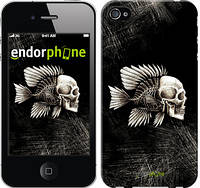 """Чехол на iPhone 4s Рыбо-человек """"683c-12-532"""""""