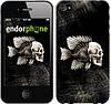 """Чехол на iPhone 4 Рыбо-человек """"683c-15-532"""""""
