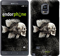"Чехол на Samsung Galaxy Note 4 N910H Рыбо-человек ""683c-64-532"""