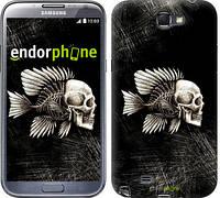 "Чехол на Samsung Galaxy Note 2 N7100 Рыбо-человек ""683c-17-532"""