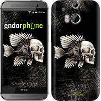 "Чехол на HTC One M8 dual sim Рыбо-человек ""683c-55-532"""