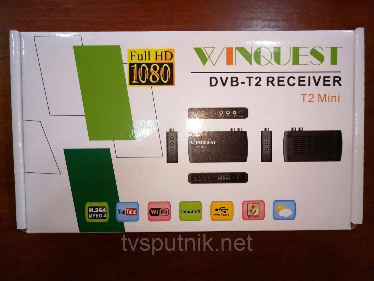 Эфирный тюнер Winquest T2 Mini (DVB-T2 )