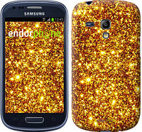 """Чехол на Samsung Galaxy S3 mini Золото """"1687c-31-532"""""""