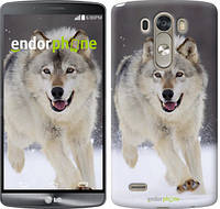 """Чехол на LG G3 dual D856 Бегущий волк """"826c-56-532"""""""