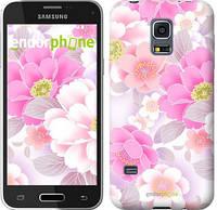 "Чехол на Samsung Galaxy S5 mini G800H Цвет яблони ""2225c-44-532"""