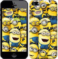 "Чехол на iPhone 5 Миньоны 8 ""860c-18-532"""