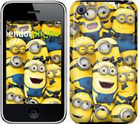 "Чехол на iPhone 3Gs Миньоны 8 ""860c-34-532"""