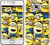 "Чехол на Samsung Galaxy S2 i9100 Миньоны 8 ""860c-14-532"""