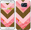 "Чехол на Samsung Galaxy S6 G920 Нежный шефрон ""3538c-80"""