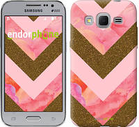 "Чехол на Samsung Galaxy Core Prime G360H Нежный шефрон ""3538c-76"""
