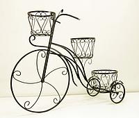 Подставка для цветов Велосипед 3 большой