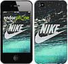 "Чехол на iPhone 4s Water Nike ""2720c-12-532"""