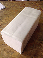 Полотенце Бумажное V сложения белое (2 слоя)