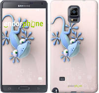 "Чехол на Samsung Galaxy Note 4 N910H Гекончик ""1094c-64-532"""