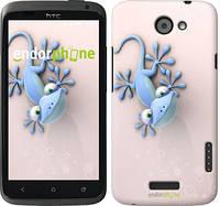 """Чехол на HTC One X+ Гекончик """"1094c-69-532"""""""