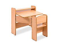 Детский стол и стул Гойдалка Парта одноместная раскладная